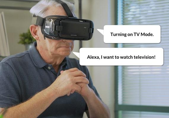 IrisVision with Alexa