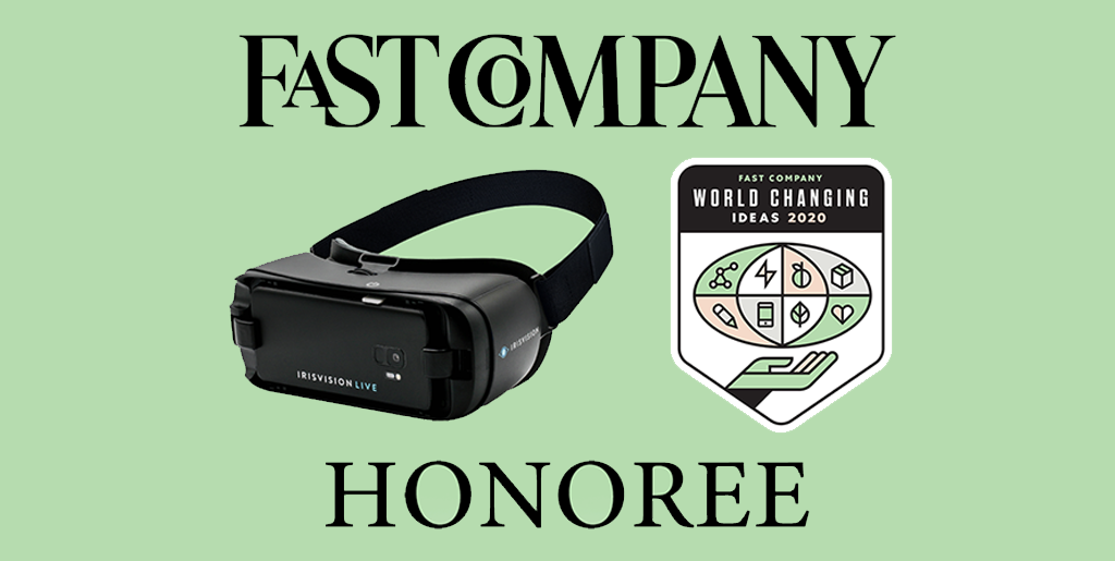 IrisVision Gets Fast Company Honoree Award