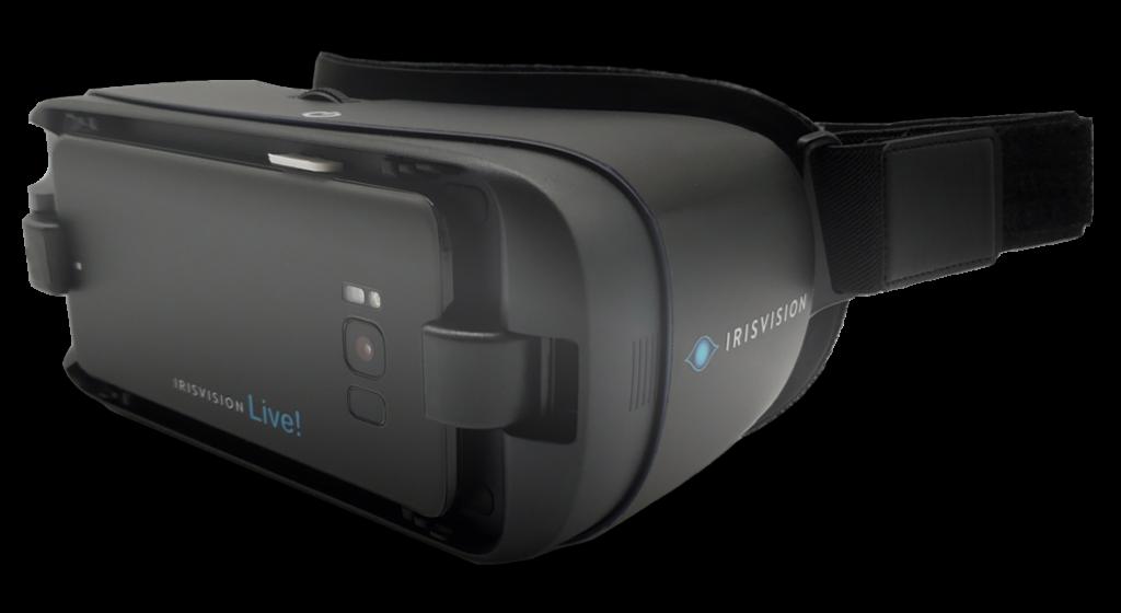 IrisVision Visually Imapried Product
