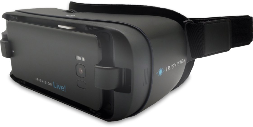 IrisVision Visually Imapried Product for legally Blind