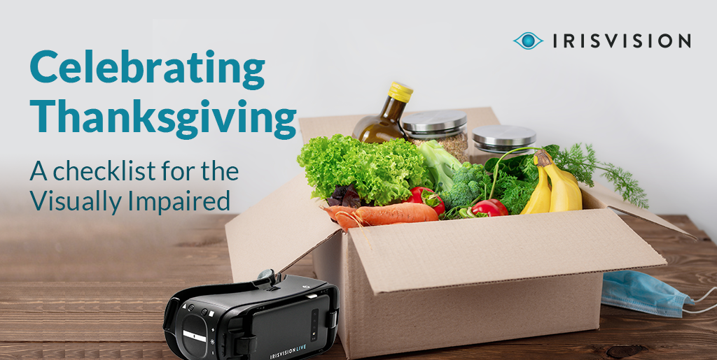 Celebrating Thanksgiving – A Checklist for the Visually Impaired