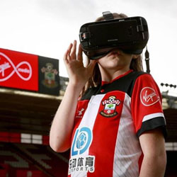 Soccer Fans to See Live Football with IrisVision's Electronic Glasses