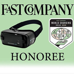World Changing Idea for 2020 - IrisVision Secures Fast Company Honoree Award