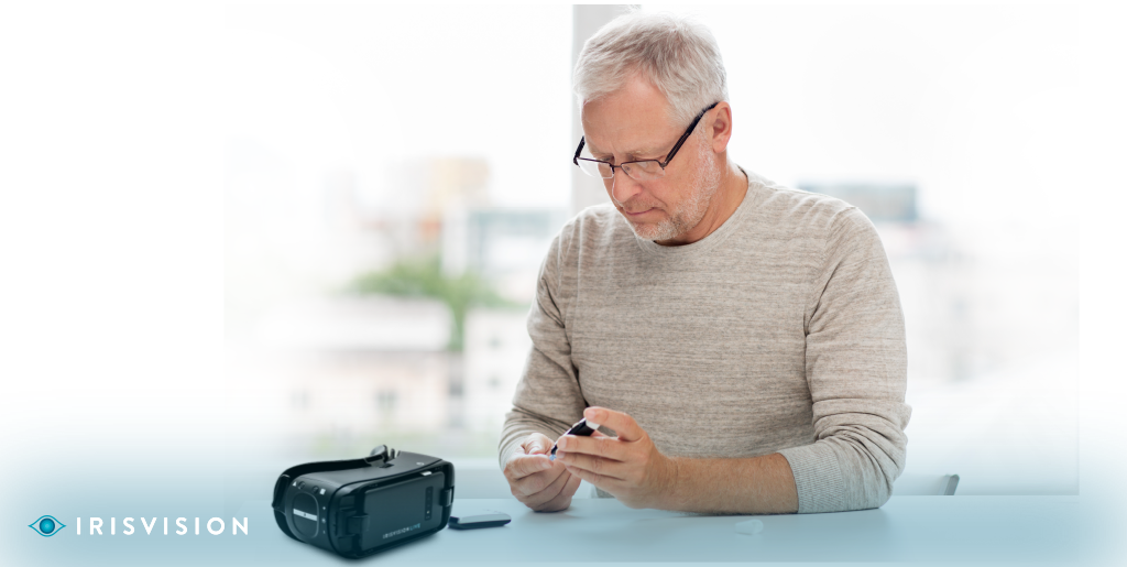 Low Vision Caused by Diabetes