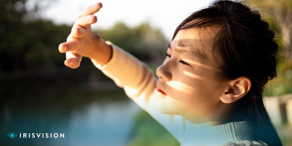 Vision loss in children