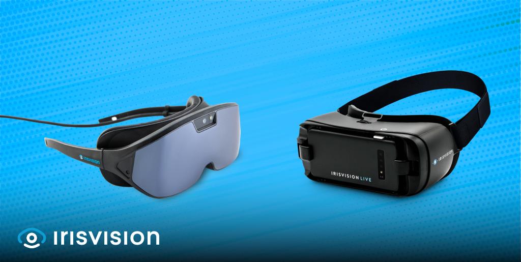 IrisVision assistive technology