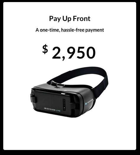 IrisVision Pricing